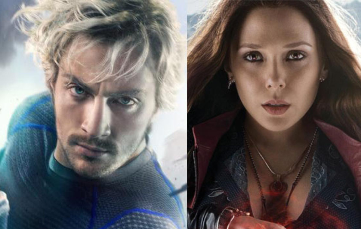 Quicksilver and Scarlet Witch Solo Character Posters for Avengers: Age of Ultron Released