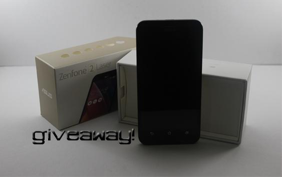 Zenfone 2 Laser giveaway