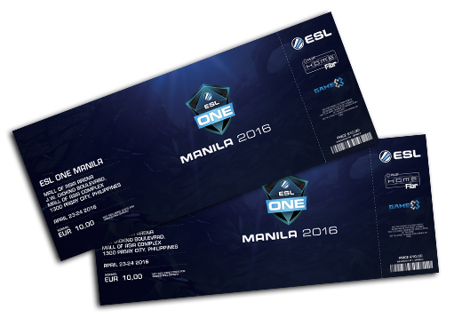 ESL One Manila 2016 2