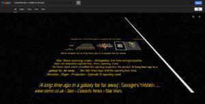Star Wars Google Easter Eggs 3