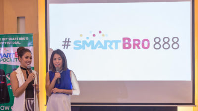 Smart Bro 888 Tour with MJ Lastimosa and Gretchen Ho + Giveaway!