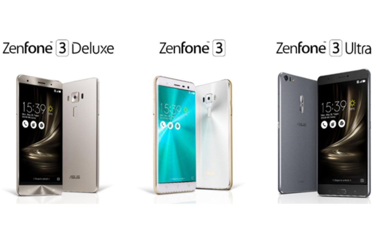 ZenFone 3, ZenFone 3 Deluxe, and ZenFone 3 Ultra – All You Need to Know
