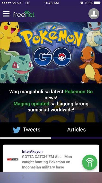 freenet Pokemon GO updates