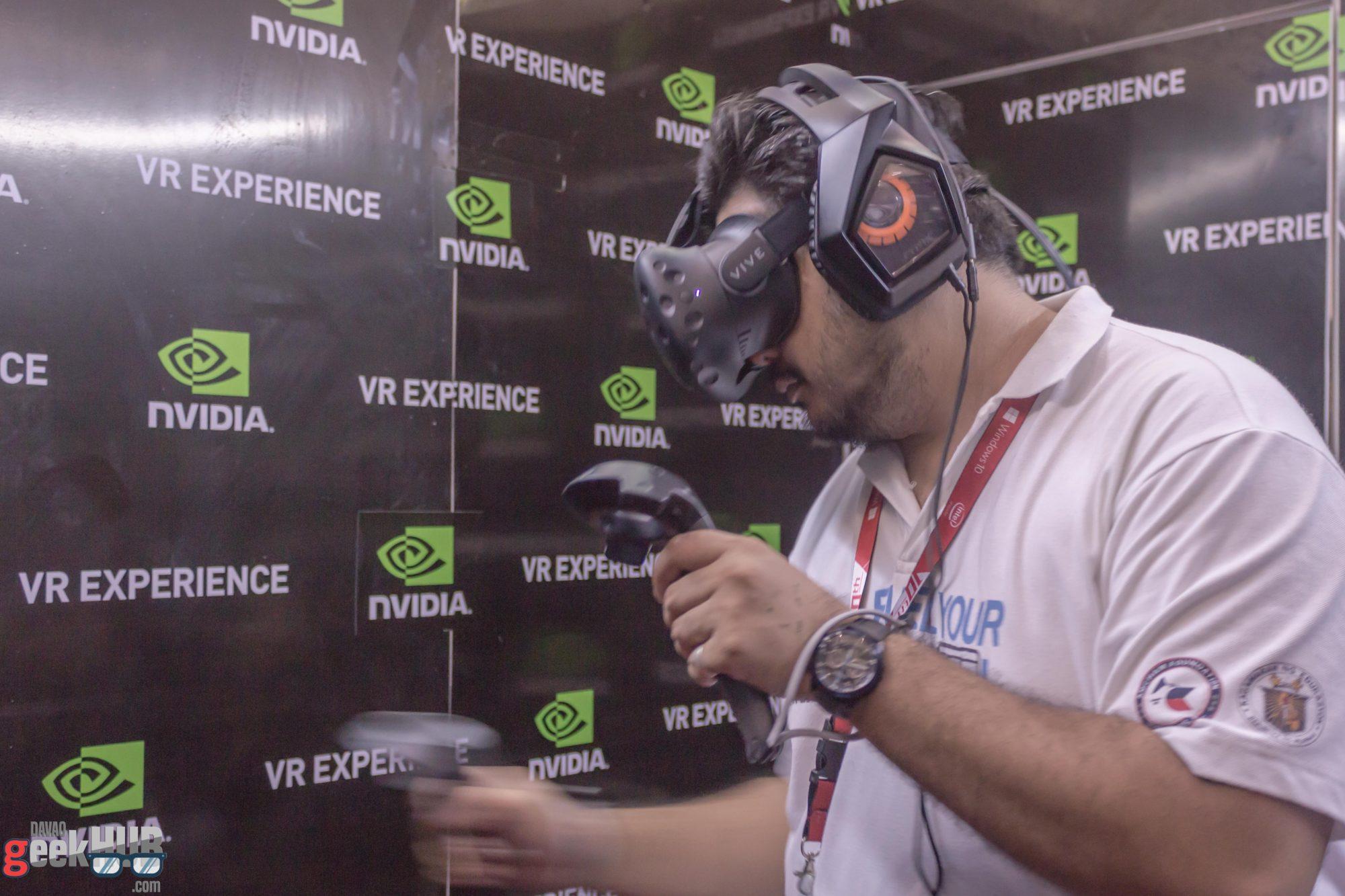 Nvidia VR Experience 1