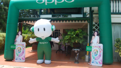 OPPO Davao Media Gathering, Introduces the OPPO F1s