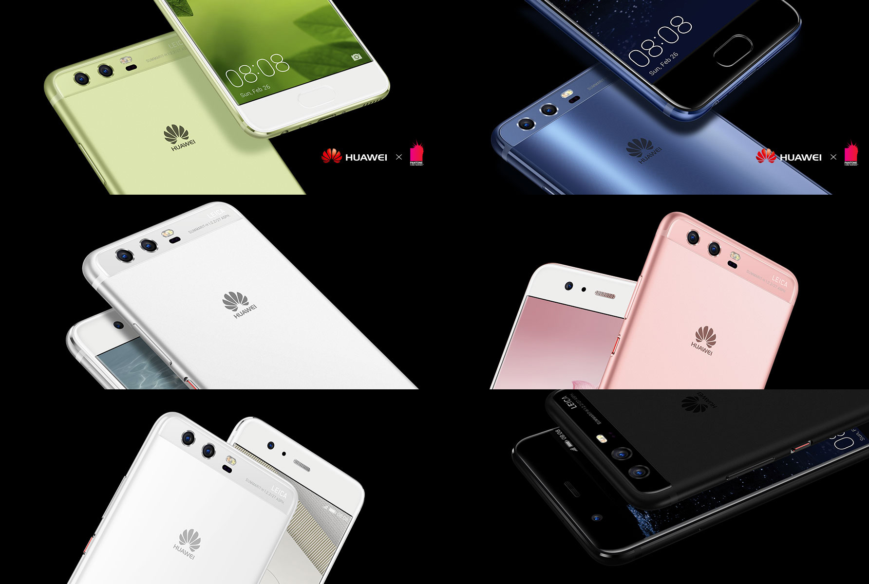 Huawei P10 New Colors