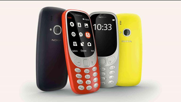 Nokia 3310 Colors