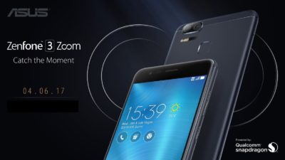 The ASUS ZenFone 3 Zoom Philippine Launch is Set on April
