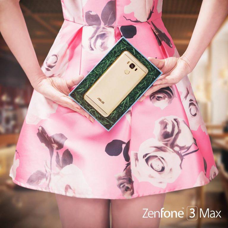 Zenfone 3 Max Sand Gold