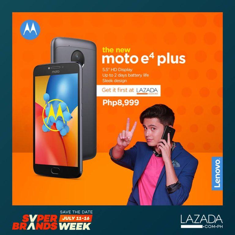 Moto E4 Plus at Lazada