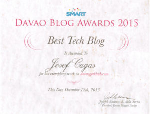 Best Tech Blog 2015