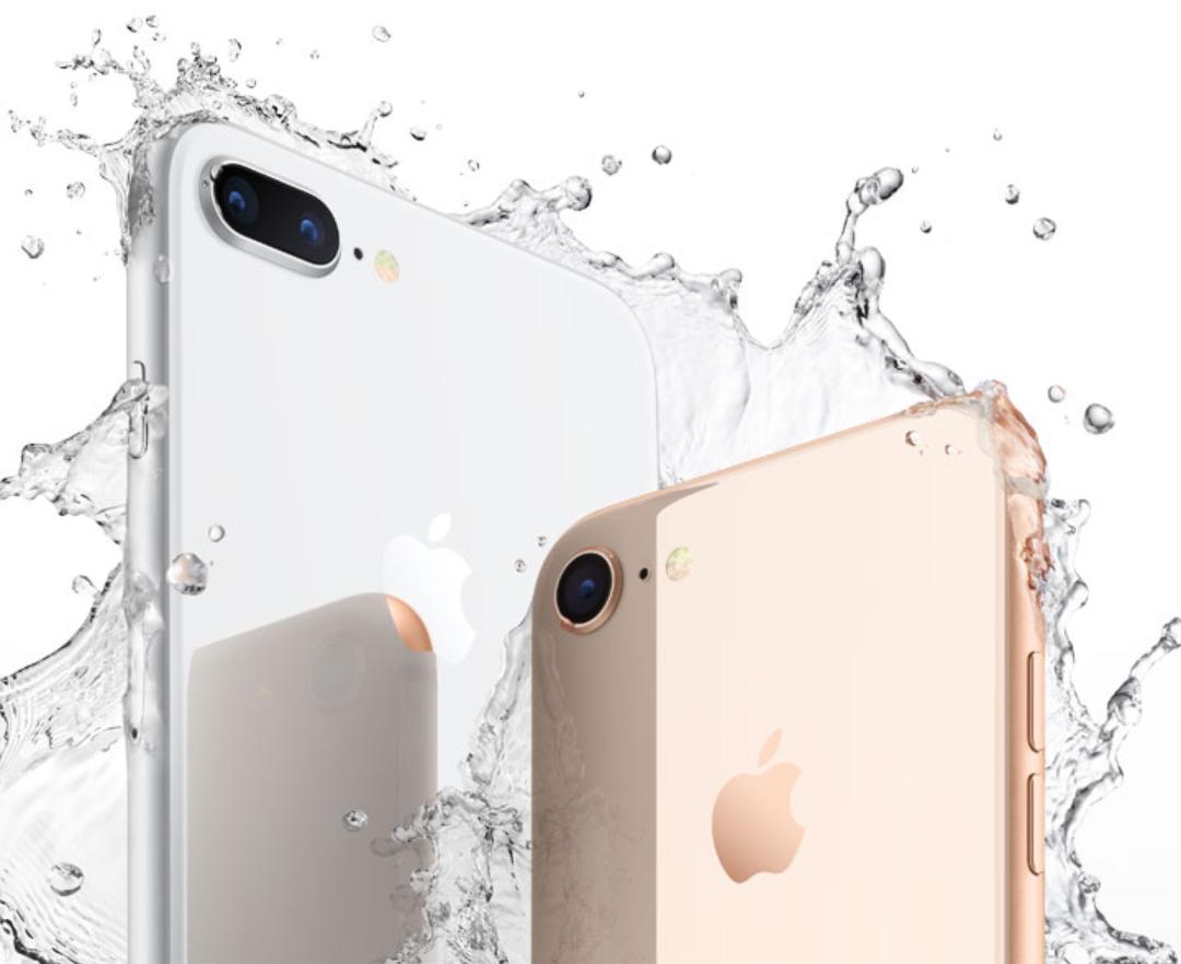 iPhone 8 and 8 Plus waterproof