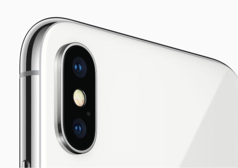 iPhone X Dual Cameras