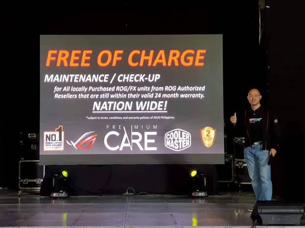 ROG Premium Care Free Charge