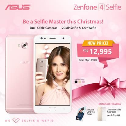 ZenFone 4 Selfie holiday promo