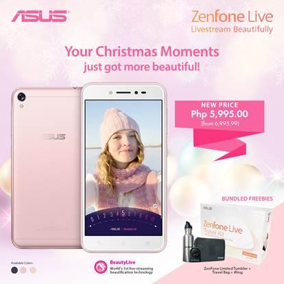 ZenFone Live holiday promo