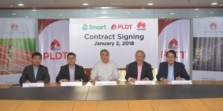 PLDT-Huawei Partnership