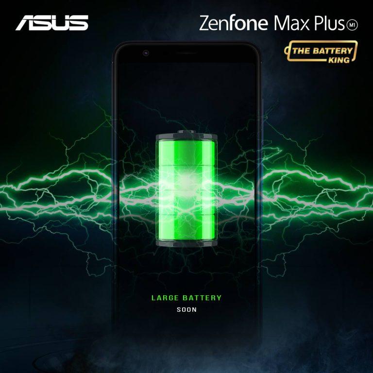 Zenfone 4 Max Plus M1 Battery King