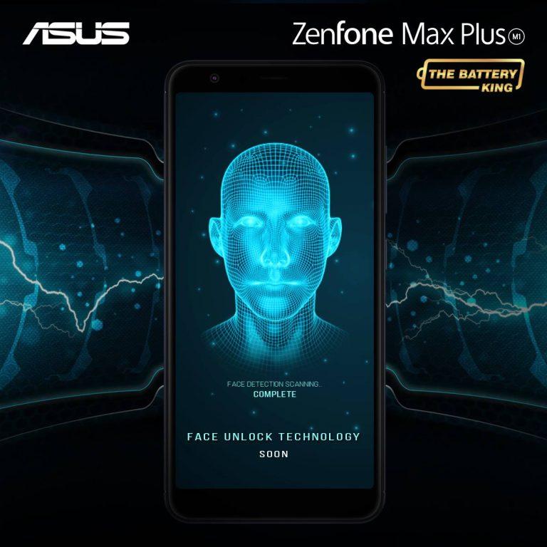 Zenfone 4 Max Plus M1 Face Unlock