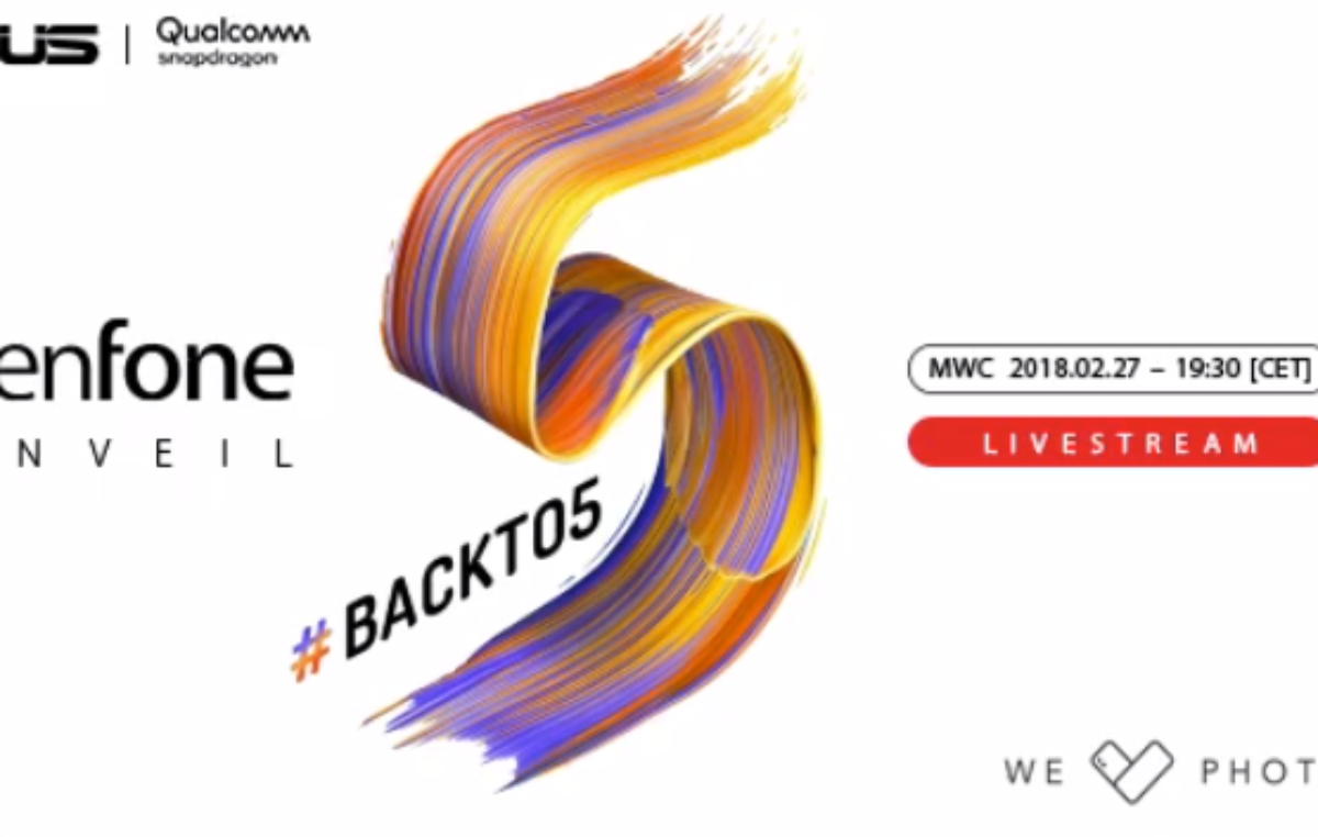 New ASUS Zenfone 5 will be Unveiled at MWC 2018