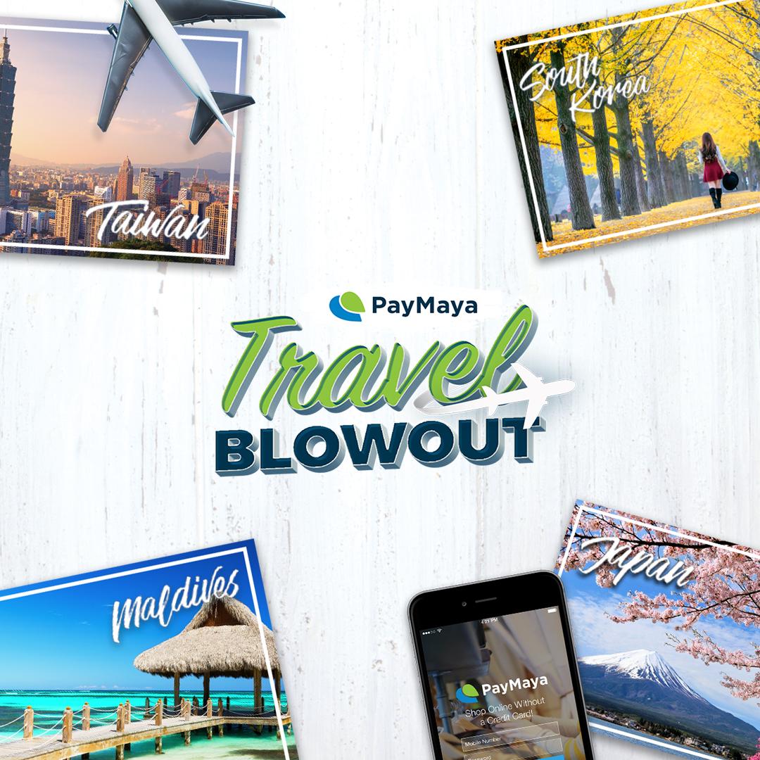 PayMaya Travel Blowout