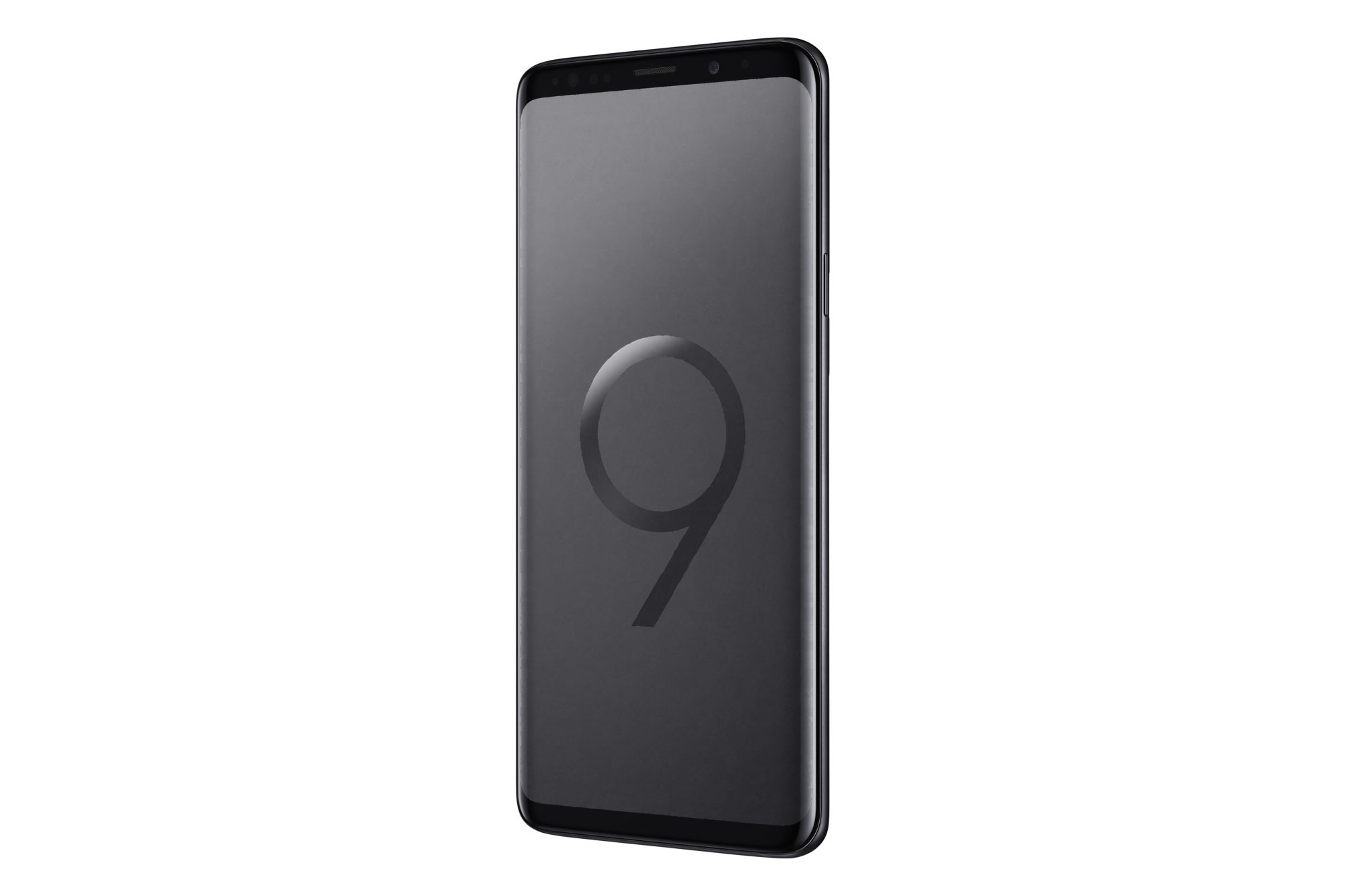 Samsung Galaxy S9 and S9+ midnight black