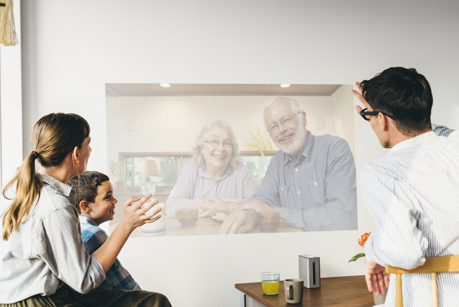 Xperia Touch video call