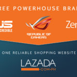 ASUS Online Ceoncept Stores in Lazada