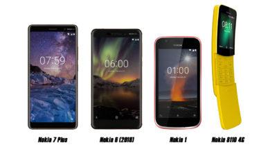 Nokia 7 Plus, Nokia 1, Nokia 6 (2018), and Nokia 8110 4G Debut in Davao