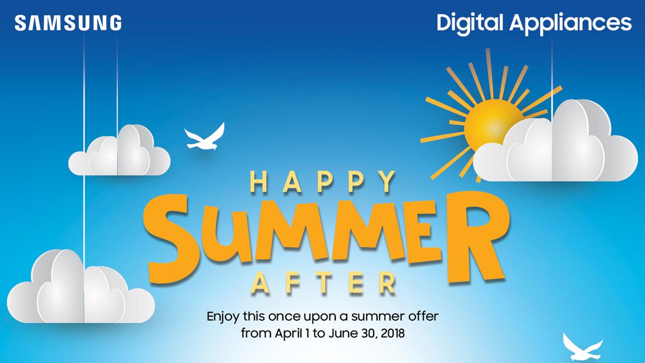 Samsung Digital Appliances Happy Summer After