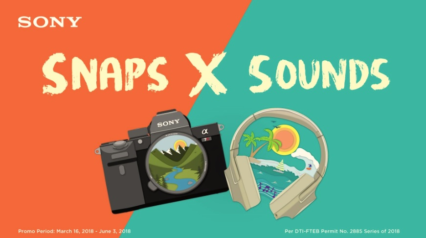 Snaps x Sounds - Sony Gadgets Offerings