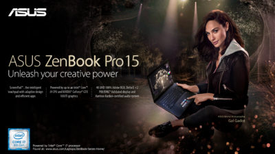 The ASUS ZenBook Pro 15 is now Available in the Philippines