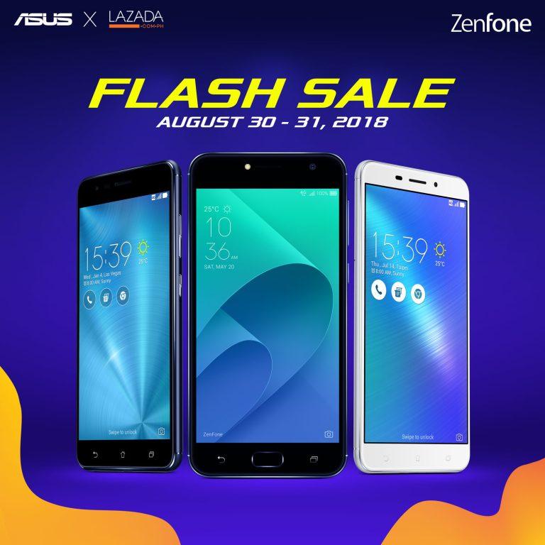ZenFone x Lazada Flash Sale