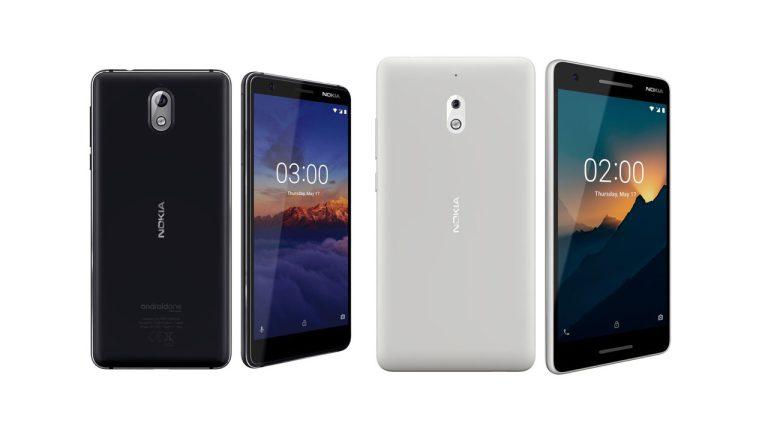 Nokia 3.1 and Nokia 2.1