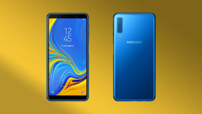 Samsung Galaxy A7 Announced, Equipped with Triple Rear Camera