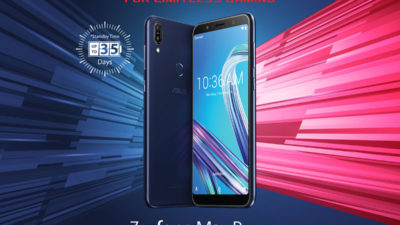 The ZenFone Max Pro M1 3 GB is Coming to a Store Near You
