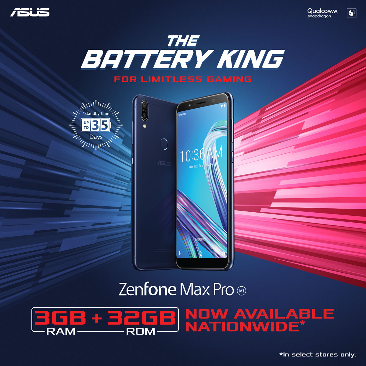 ZenFone Max Pro M1 - 3GB + 32GB Variant Now Available