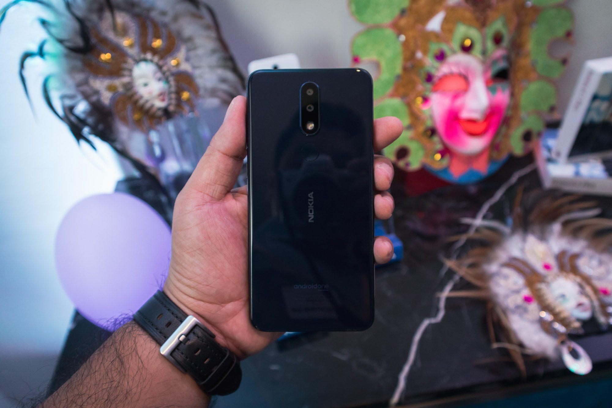 Nokia 5.1 Plus back