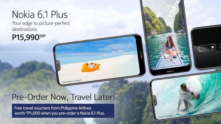 Nokia 6.1 Plus Pre-Orde Now, Travel Later