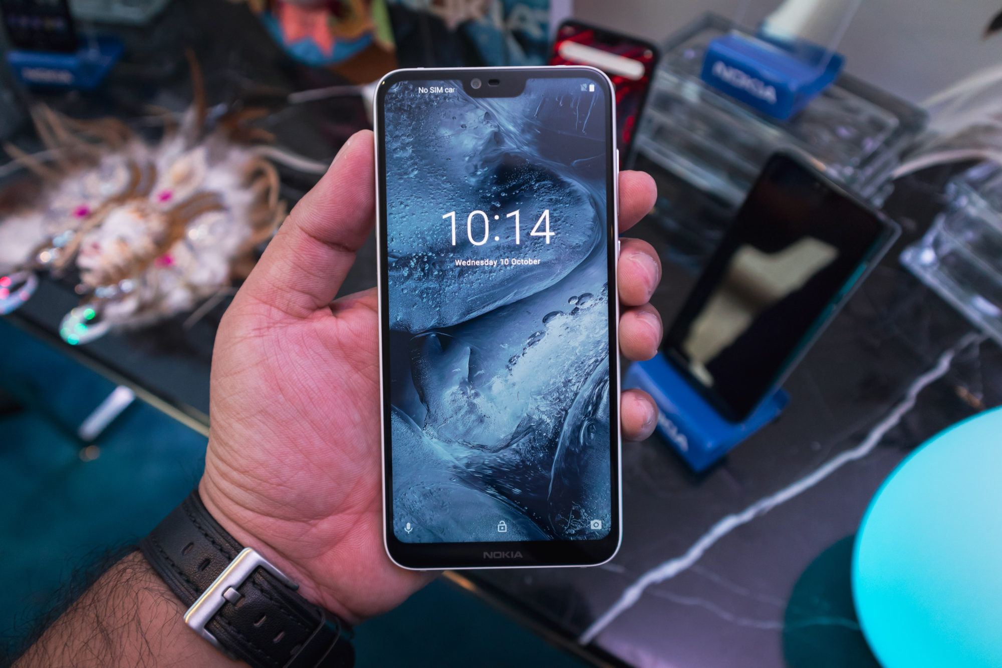 Nokia 6.1 Plus front