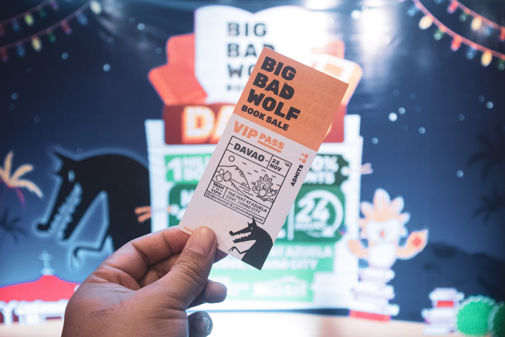 Big Bad Wolf Book Sale VIP pass