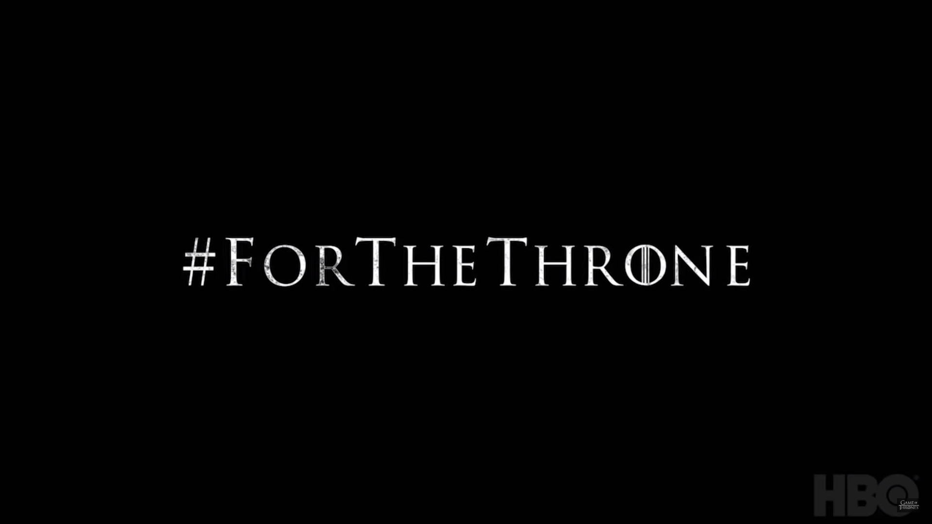 Game of Thrones Season 8 Release Date #ForTheThrone