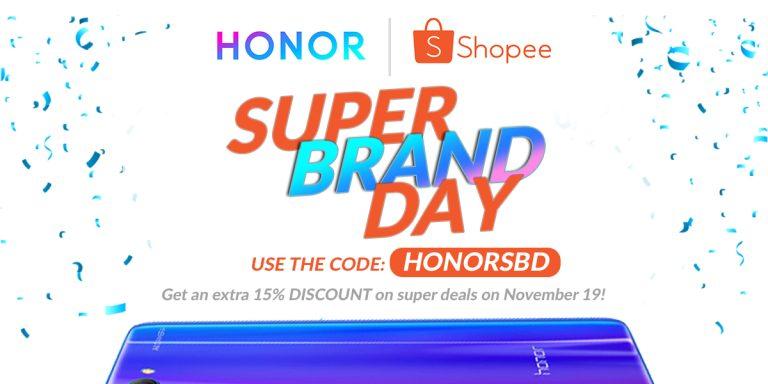 Honor Super Brand Day Sale