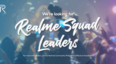 Realme Philippines is Searching for Realme Squad Leaders
