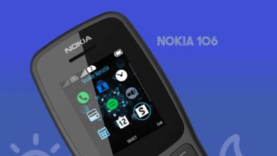 HMD Global Outs the Nokia 106 (2018) – Nokia's New Feature Phone