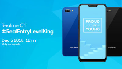 Catch the Realme C1 at a More Affordable Price on December 5 at Lazada