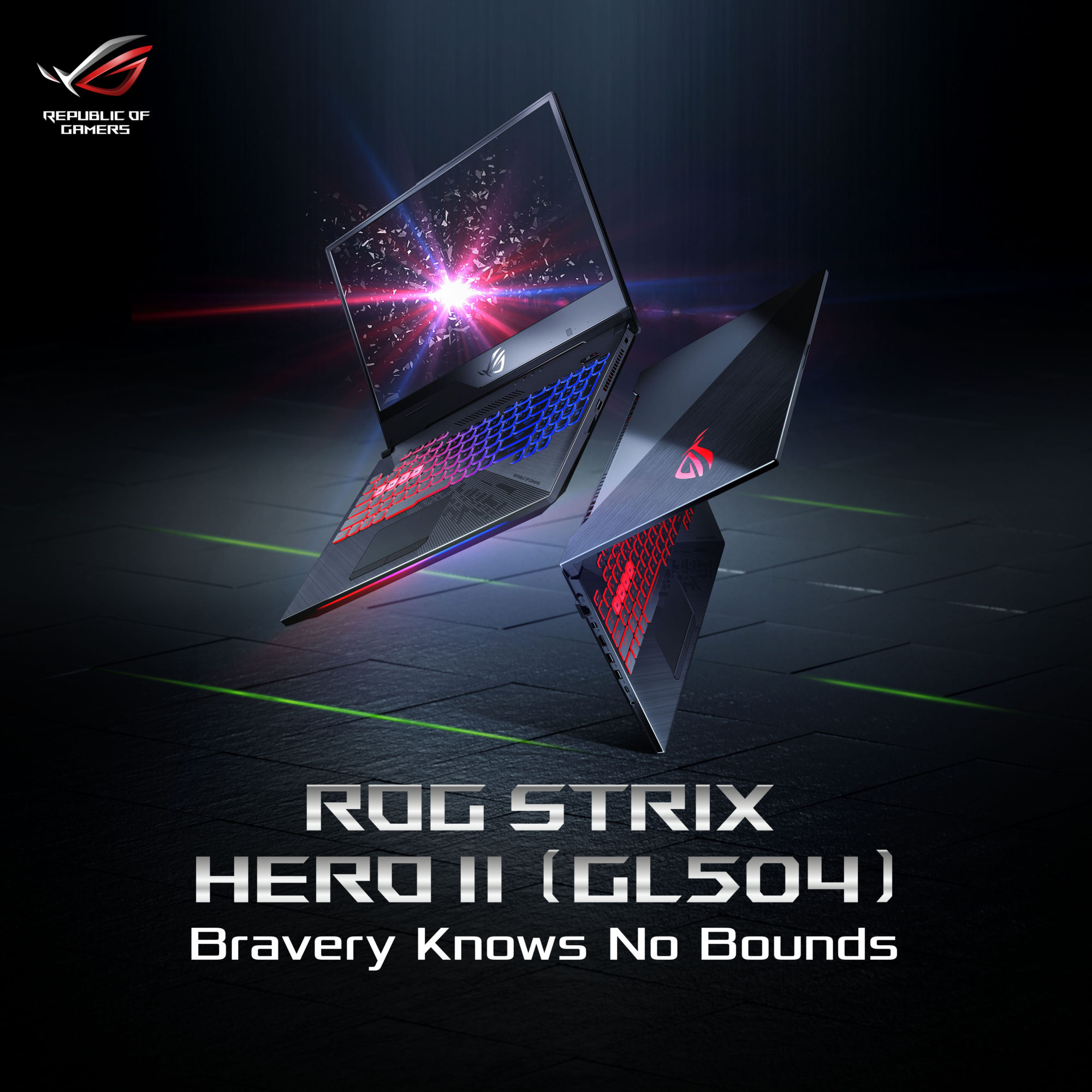 ROG Strix Hero II GL504