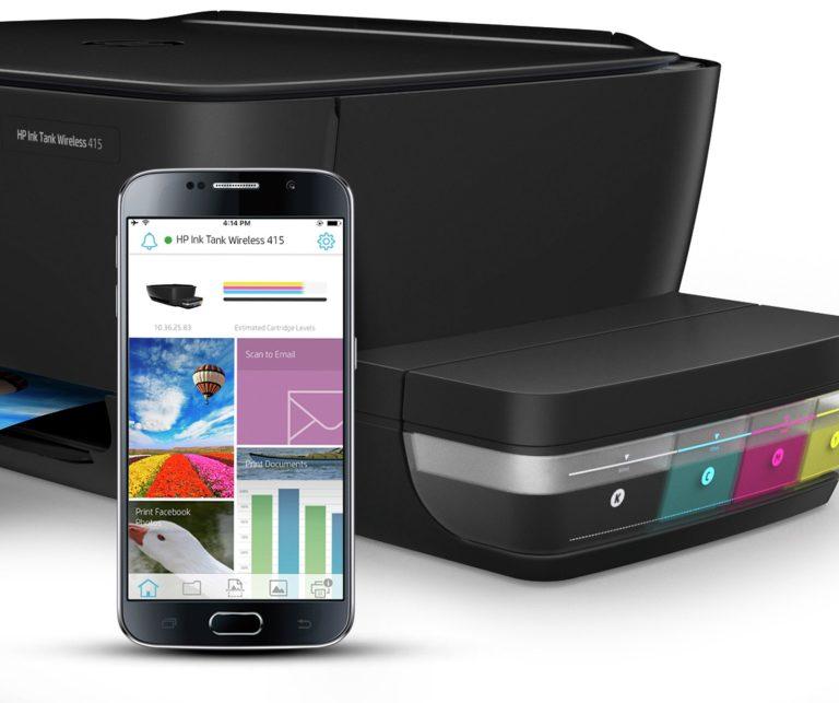 HP Smart App and HP ePrint