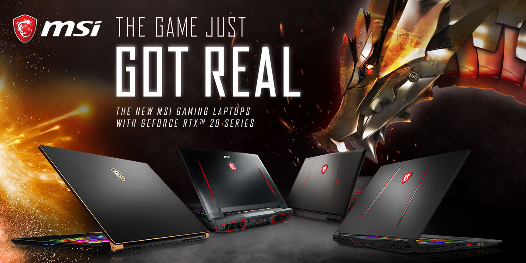 MSI RTX Laptops