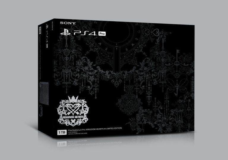 Playstation 4 Pro Kingdom Hearts III